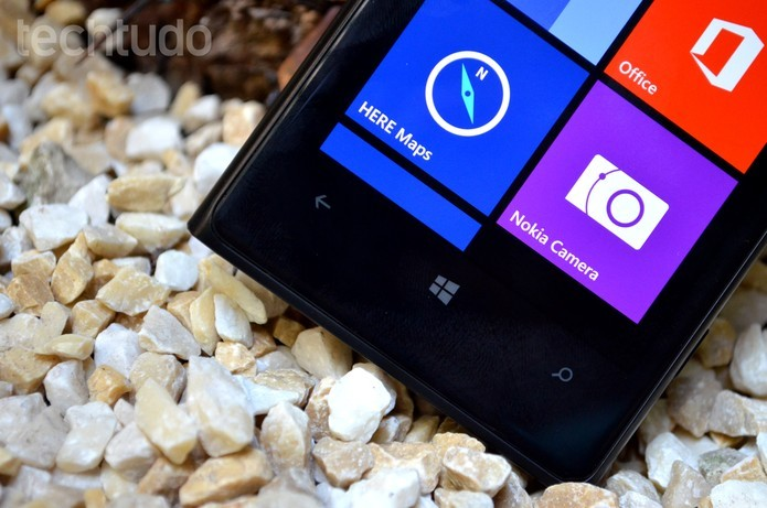 Por dentro do Lumia 1020 está um processador mais simples dual-core (Foto: Luciana Maline/TechTudo)