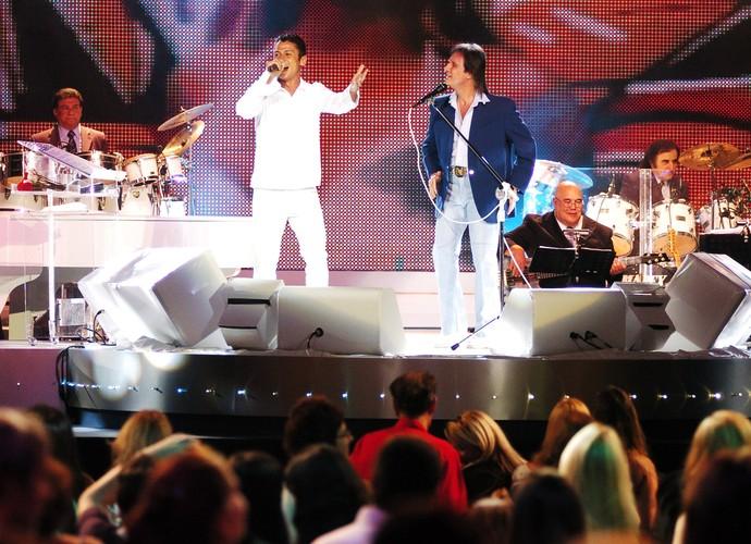 Mc Leozinho foi convidado para participar do Especial do rei em 2006 (Foto: Márcio de Souza/TV Globo)