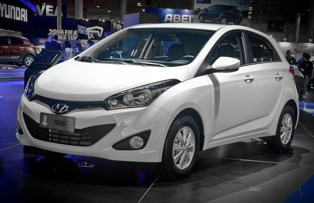 Hyundai HB20 (Foto: Gustavo Maffei)