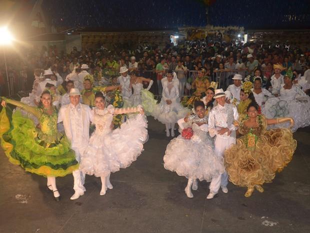 Ao todo, 11 agremiações participaram da disputa em Campina Grande (Foto: Divulgação/Codecom )