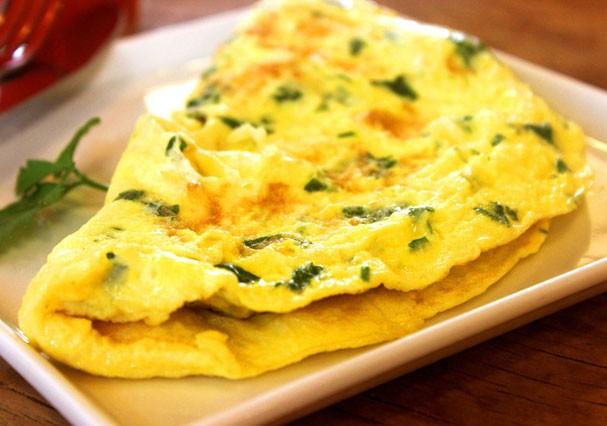 Omelete fit de forno com manteiga ghee (Foto: Divulgação)