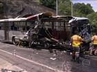 Acidente com ônibus na Linha Amarela, Rio, deixa cinco mortos