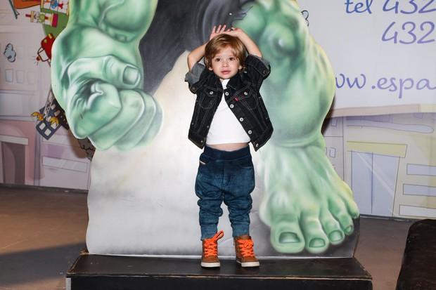 Vittorio, filho de Adriane Galisteu (Foto: Manuela Scarpa/Foto Rio News)