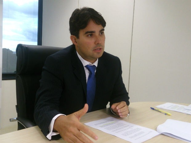 Chefe da 4º Promotoria de Defesa do Patrimônio Público do MPDFT, Fábio Macêdo Nascimento (Foto: Mateus Rodrigues/G1)