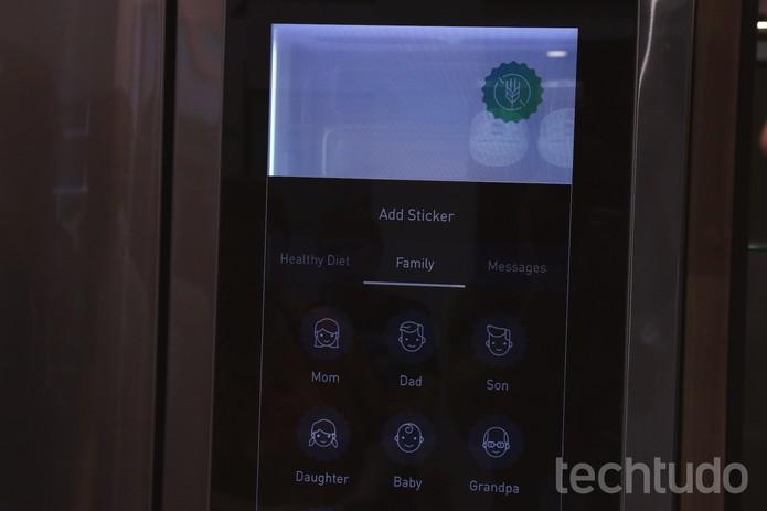Geladeira LG com Windows 10 (Foto: Fabrício Vitorino/TechTudo)