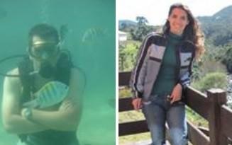 Dirlenes e Manuela morreram após acidente (Foto: Montagem/Facebook)