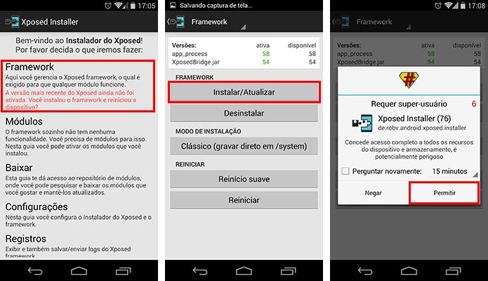 Instale a framework Xposed (Foto: Reprodução/Paulo Alves)