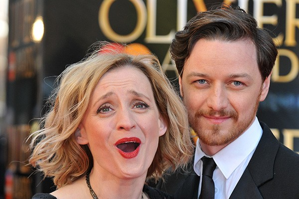 James McAvoy e Anne-Marie Duff (Foto: Getty Images)