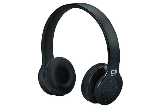 a0efa20a7f2 Fone de ouvido da C3 Tech tem design compacto e Bluetooth (Foto: Divulgação/