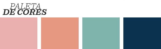 Décor do dia: Rosa e azul em perfeita harmonia (Foto: Reprodução)