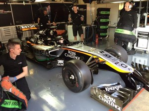 Sergio Perez Force India Barcelona (Foto: Reprodução/Twitter)