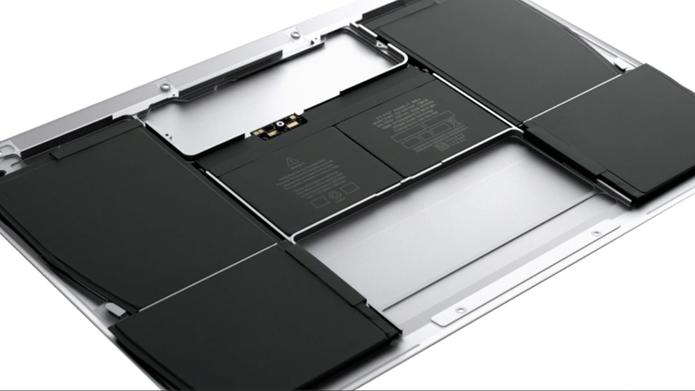 Bateria do novo macbook também melhorou  (Foto: reprodução )