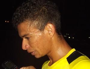 Erivélton, meia que veio das bases do ABC (Foto: Klênyo Galvão)