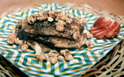 Panqueca doce (waffle): receita da Bela Gil
