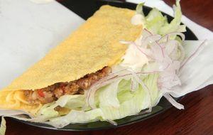 Tacos de chilli com carne
