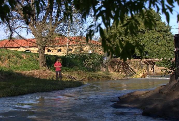 O De Ponta a Ponta foi conhecer algumas histórias da Fazenda Ipanema (Foto: Reprodução/TV TEM)