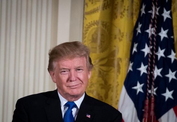 O presidente dos Estados Unidos, Donald Trump (Foto: Drew Angerer/Getty Images)