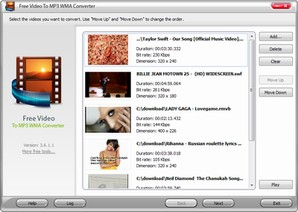 Video To MP3 WMA Converter