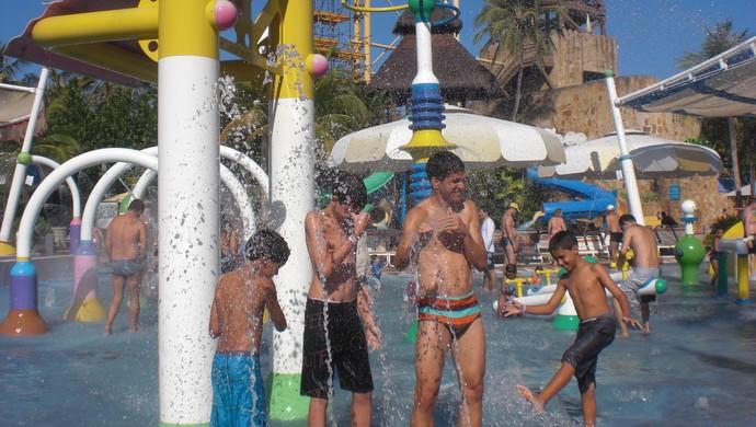 Magno Alves; Beach Park; Ceará; família  (Foto: Thaís Jorge)