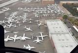 """""""Luta do século"""" gera engarrafamento de jatos particulares em aeroporto"""