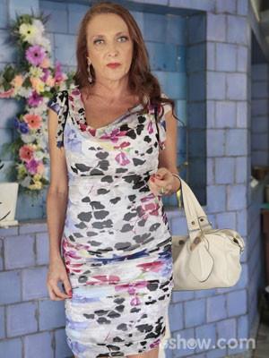 Debora Olivieri interpreta Elisinha (Foto: Felipe Monteiro/TV Globo)
