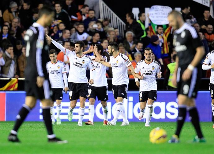 Antonio Barragan, Real Madrid x Valencia (Foto: AP)