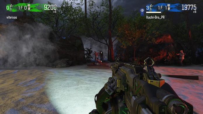 Modo em primeira pessoa de Dead Ops 2 (Foto: Reprodução/Victor Teixeira)