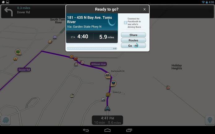Waze vai ser pré-instalado no Android (Foto: Divulgação)