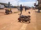 Acidente na Av. Caula deixa um morto e três feridos em Porto Velho