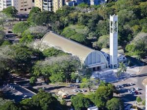 Catedral de Cianorte (Foto: Divulgação/ Ascom/ Prefeitura de Cianorte)