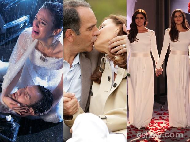 Não faltou emoções nos capítulos finais de 'Em Família' (Foto: Em Família/TV Globo)