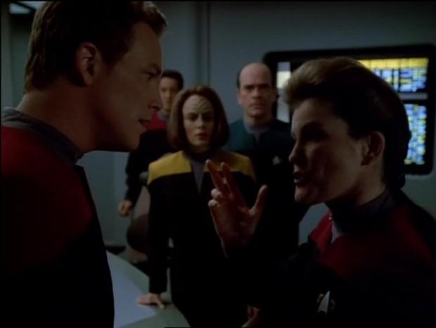 Escorpião: Parte 1 (Star Trek Voyager)  (Foto: reprodução)