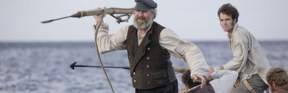William Hurt como o capitão Ahab em 'Moby Dick' (Foto: Divulgação )
