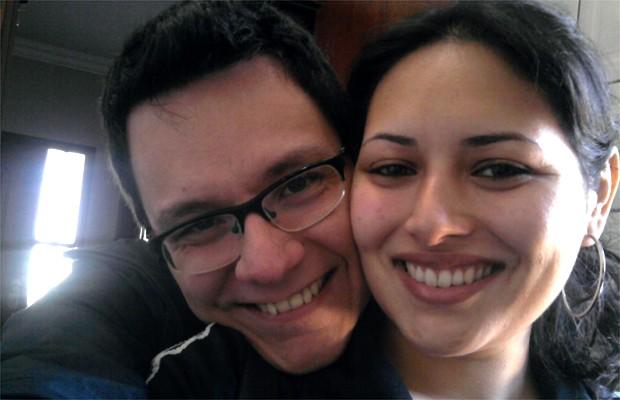 Ivan do BBB13, com a namorada Vanessa Nascimento (Foto: Arquivo pessoal)
