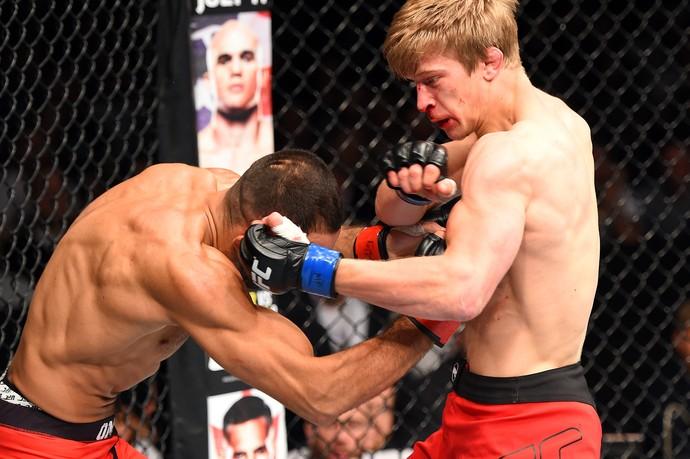 Arnold Allen Alan Olmer UFC Berlim (Foto: Getty Images)