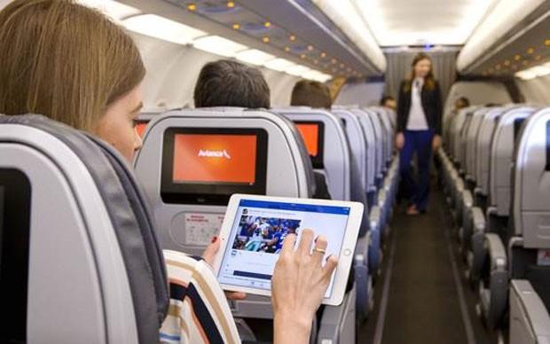 Avianca Brasil passa a oferecer Wi-Fi em avião (Foto: Divulgação)