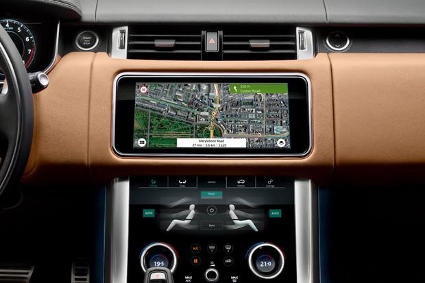 Tela do Range Rover Sport (Foto: Divulgação )