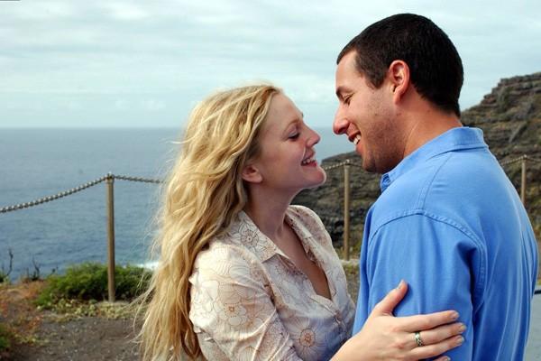 Apesar do último filme protagonizado por Drew Barrymore e Adam Sandler, 'Juntos e Misturados' (2014), ter fracassado, os atores ainda são lembrados pelos longas 'Afinado no Amor' (1998) e 'Como se Fosse a Primeira Vez' (2004 - foto) (Foto: Divulgação)