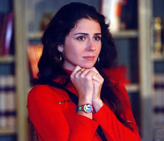 Em 2000, Giovanna levou o prêmio de Melhor Atriz Coadjuvante por papel em Laços de Família (Foto: Cedoc/TV Globo)