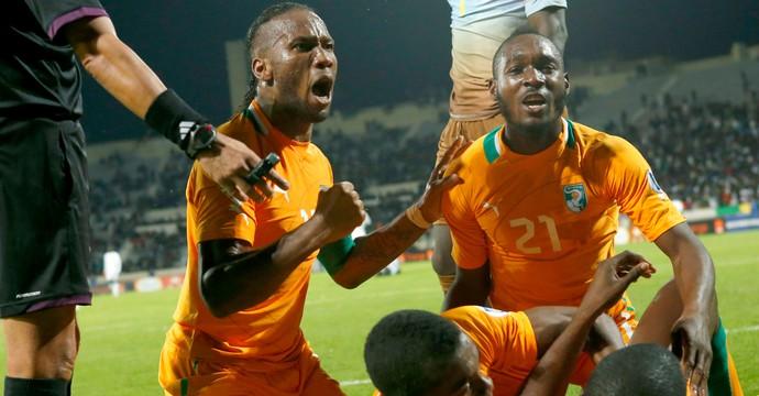 Drogba Costa do Marfim (Foto: AP)