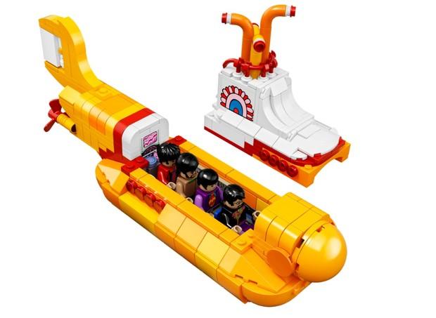 Yellow Submarine, R$ 449,99, Lego.  (Foto: Divulgação)