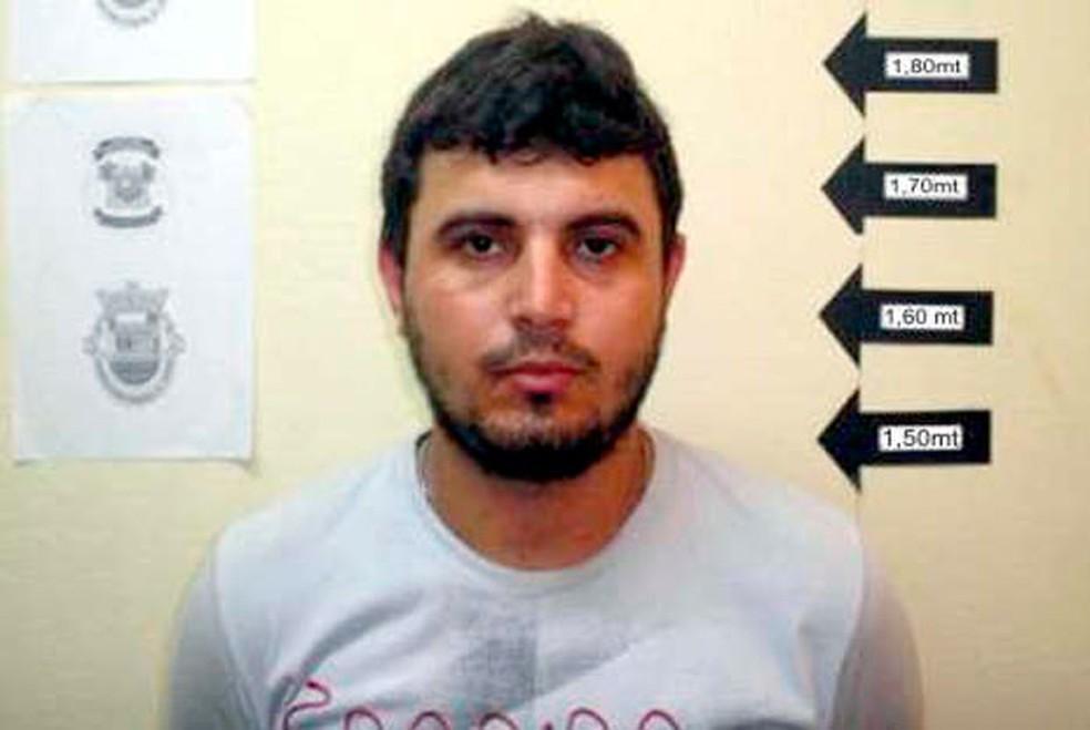 João Francisco, o 'Dão', foi condenado pela morte do radialista F. Gomes, em Caicó (Foto: Divulgação/Polícia Civil do RN)