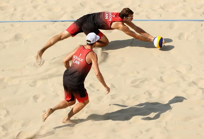 Saxton; schalia; vôlei de praia; olimpíadas; canadá (Foto: Ezra Shaw/Getty Images)