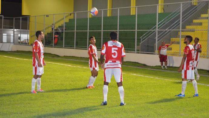 Auto Esporte espera pelo jogo contra o Santa Cruz-PB (Foto: Rammom Monte/GloboEsporte/pb)