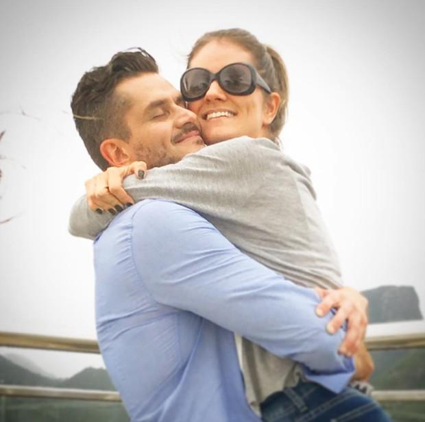 Marcos e Carol Harter (Foto: Reprodução/Instagram)