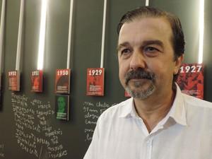 Diretor-geral da Fundação Roberto Marinho, Hugo Barreto, diz que Paço é legado para recifenses e turistas (Foto: Luna Markman / G1)