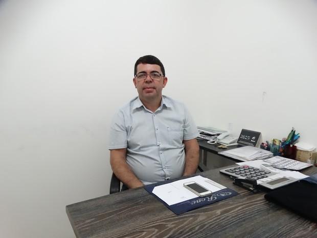 Ronaldo Silva, empresário (Foto: Paula Cavalcante/G1)