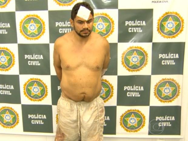 Marido é o principal suspeito pela morte da dançarina Amando Bueno, no Rio (Foto: Reprodução/TV Globo)