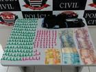Polícia apreende drogas em esfiharia de Itapuí usada como ponto de tráfico