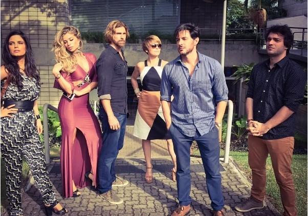 Gianecchini e elenco (Foto: Instagram)